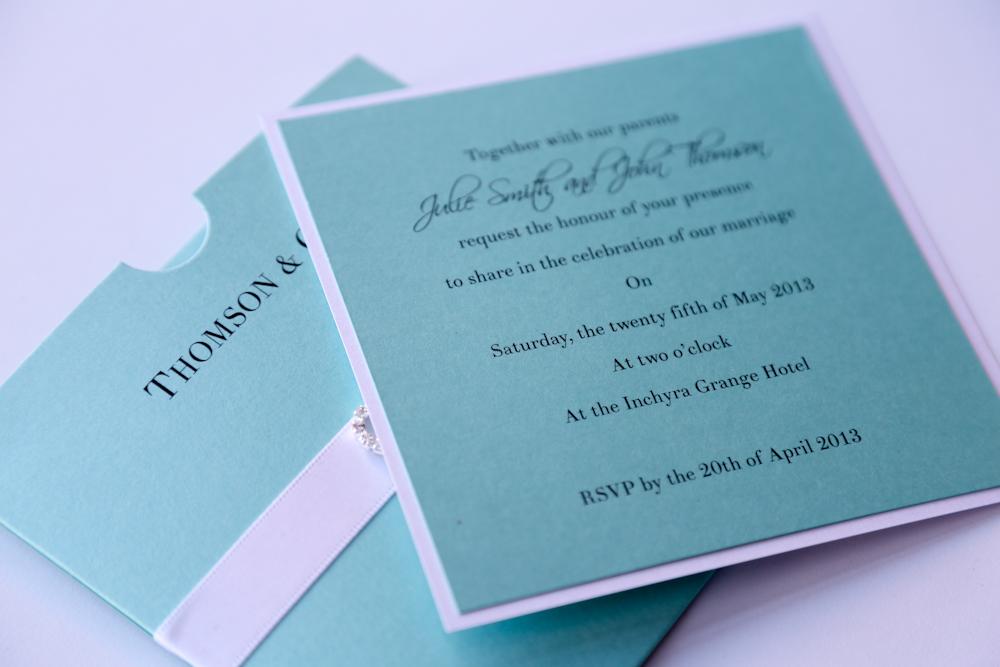 Tiffany Themed Wedding Invitations Image collections Wedding