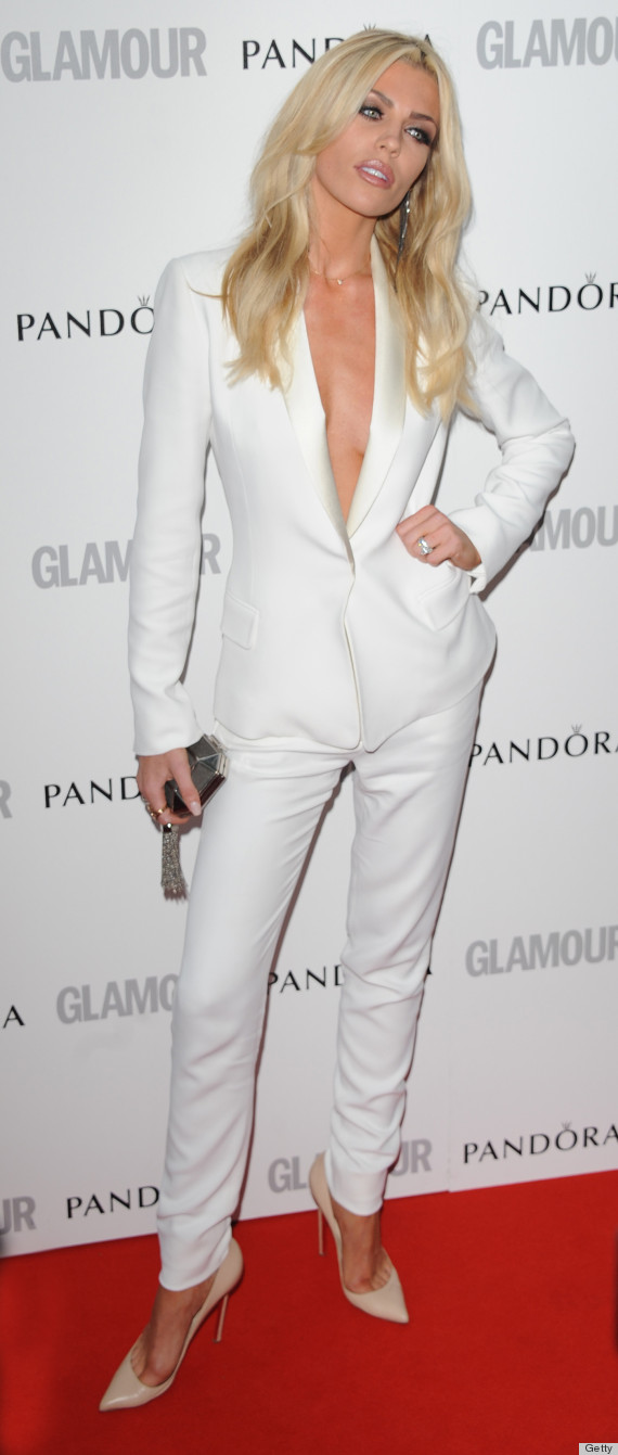 Womens White Wedding Tuxedo