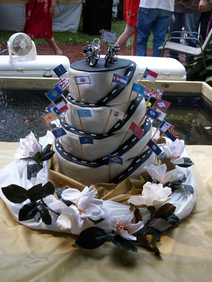 Biker Wedding Cake Ideas