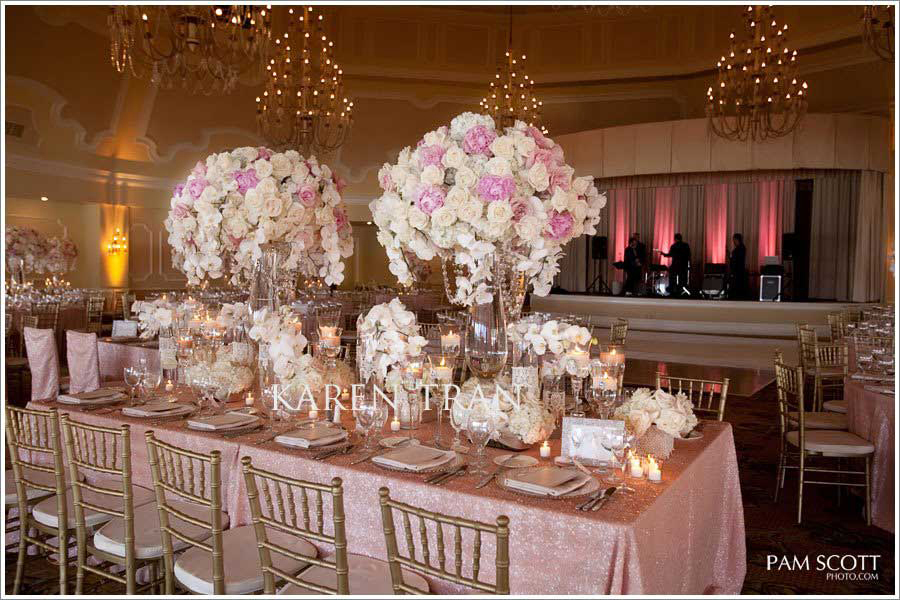 Blush Pink And Gold Wedding 1000 Images About Hilton