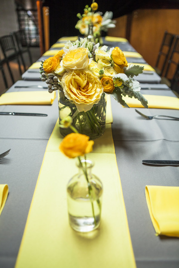 Yellow And Gray Wedding Decorations Decoration For Home