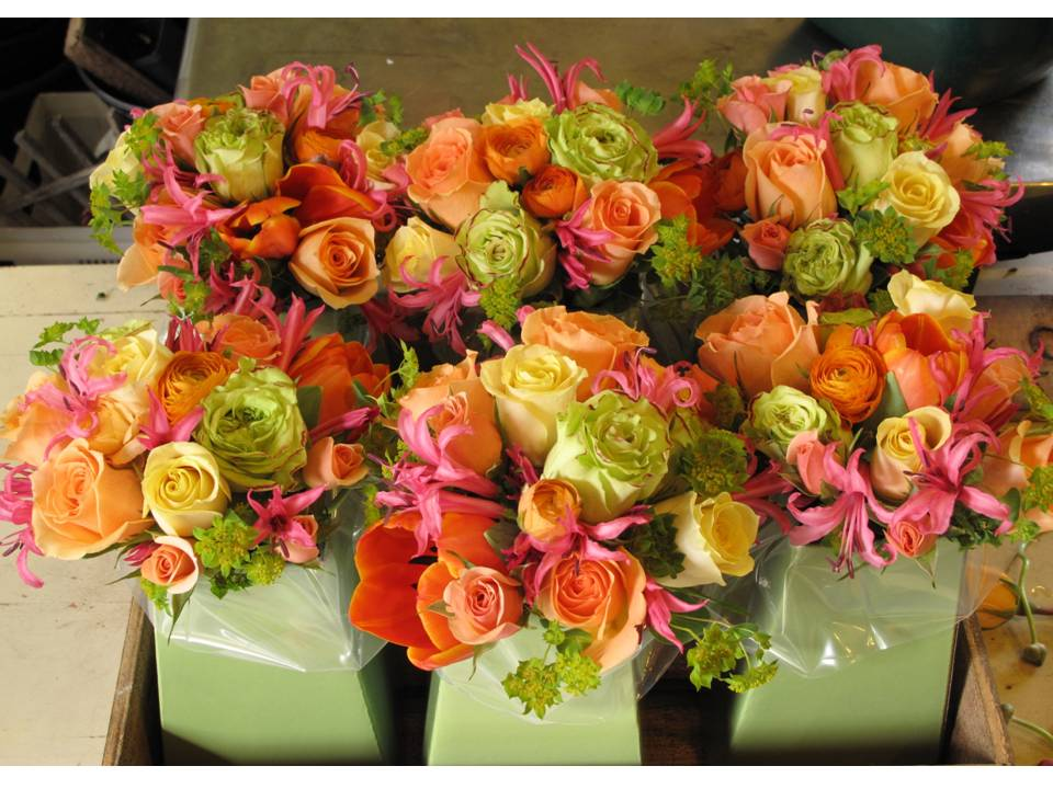 orange flower centerpieces wedding. Black Bedroom Furniture Sets. Home Design Ideas