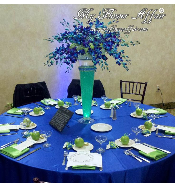 Royal Blue And Green Wedding Theme Gallery Decoration Ideas