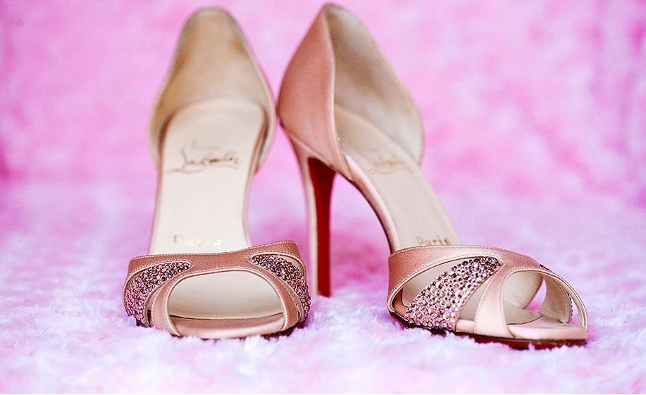 Pink Wedding Shoes On Emasscraft Org 117474