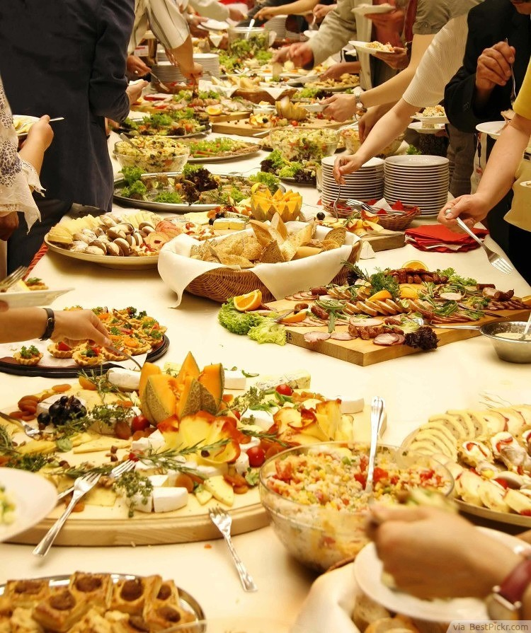 Food for wedding reception junglespirit Choice Image