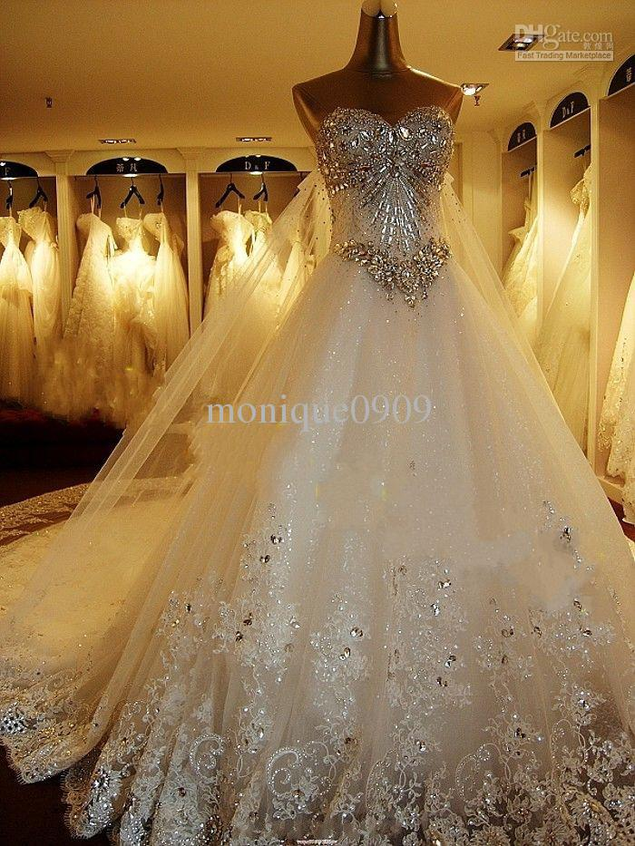 Mermaid Wedding Dress With Bling 2013hot