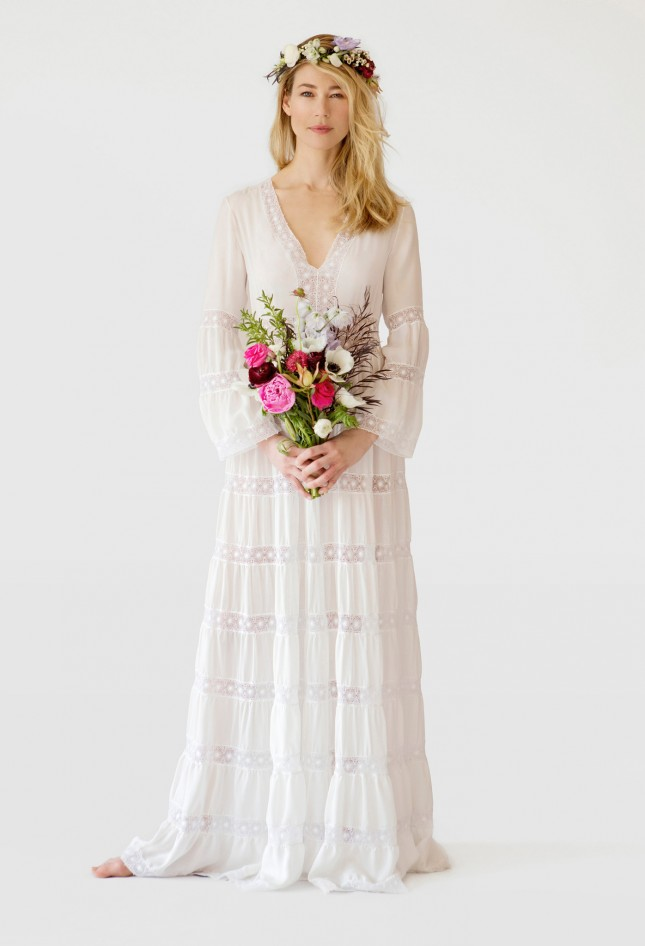 20 Wedding Dresses For The Bohemian Bride Emasscraftorg