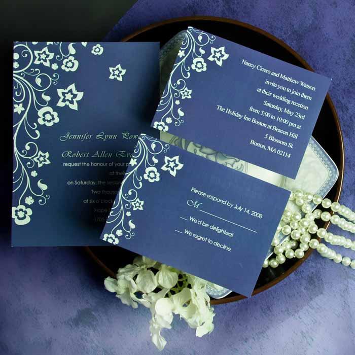 Garden wedding invitation ideas for Garden wedding invitation designs