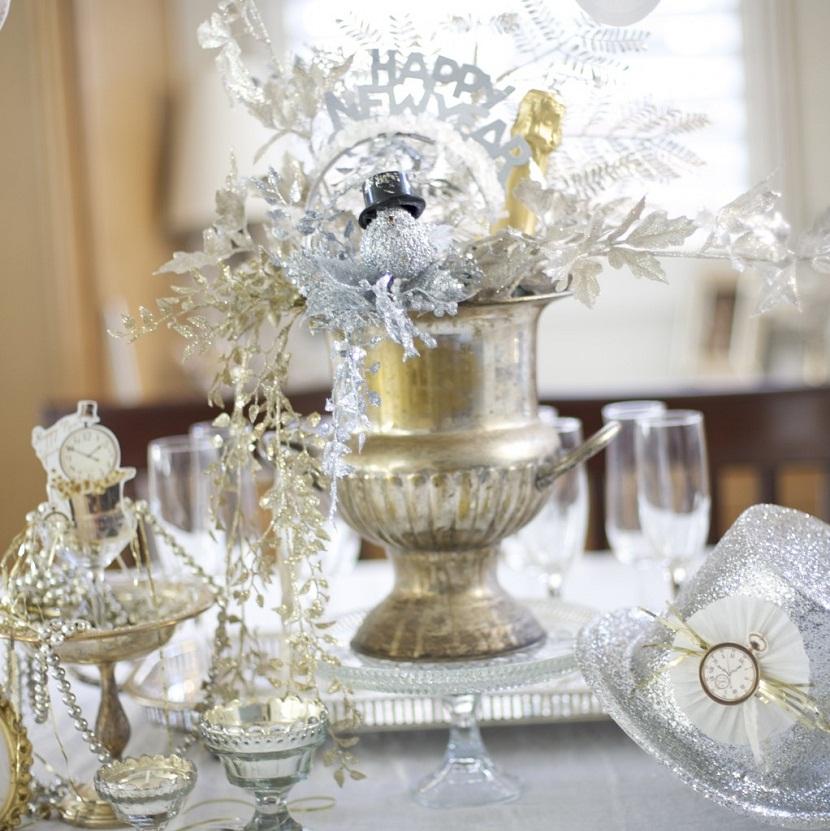 New years eve wedding centerpiece ideas