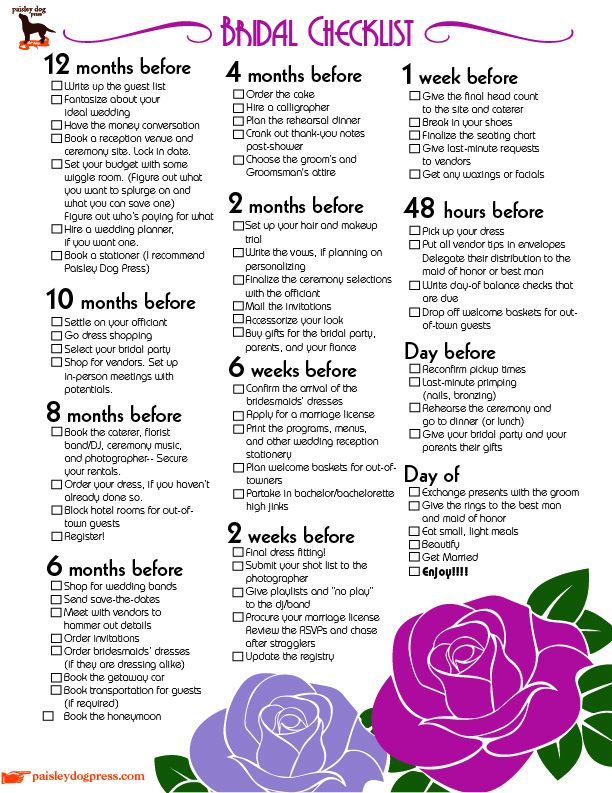 Wedding Day Checklist For Bride 78 Best Images About Survival Kit