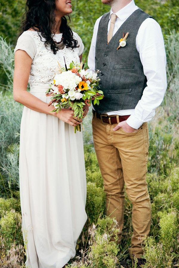 Groom Casual Wedding Attire