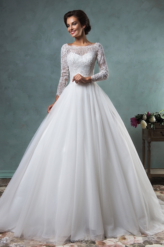 Clic Elegant Wedding Dress