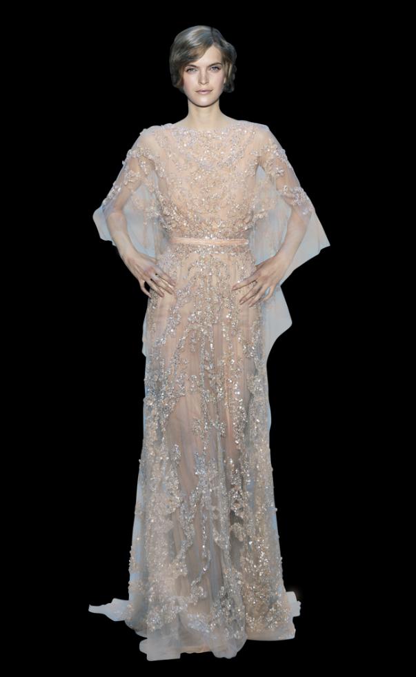 Art Nouveau Wedding Dress