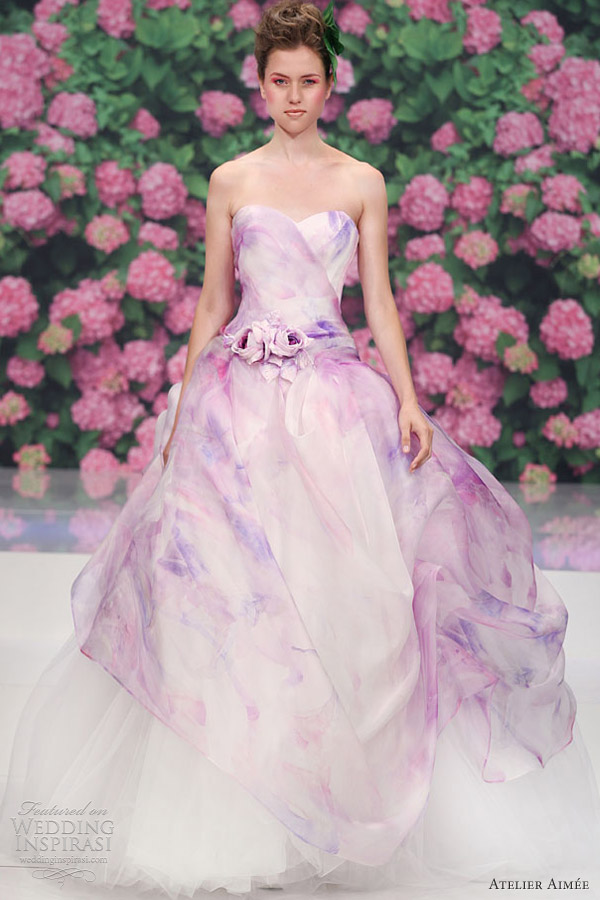 Purple Color Wedding Dresses | Wedding Gallery