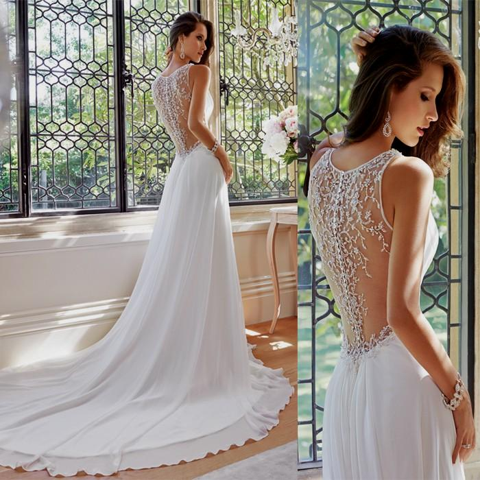 Simple elegant wedding dress junglespirit Image collections