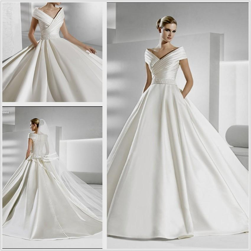 Elegant Wedding: Simple Elegant Wedding Dress