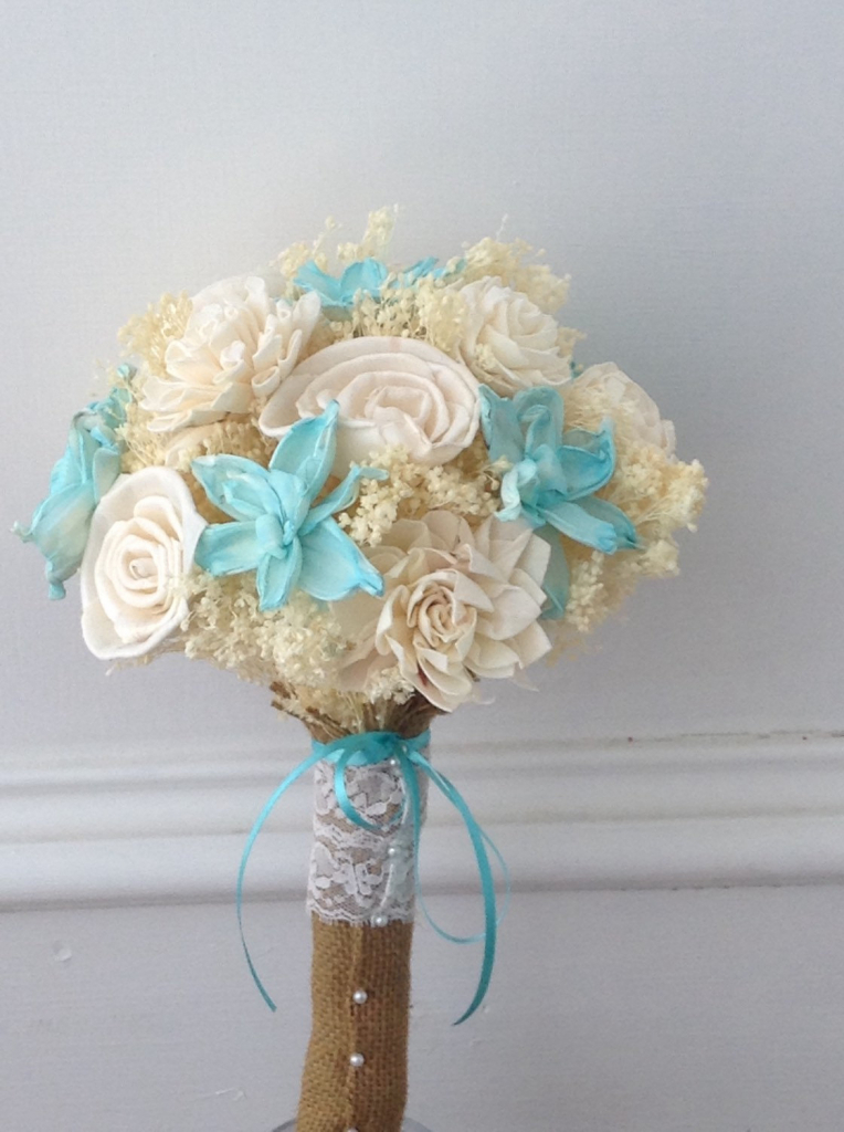 Beach theme wedding flower bouquets junglespirit Images