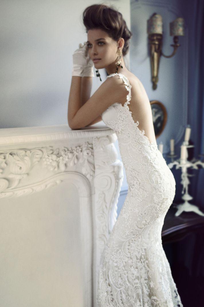 Wedding dresses open back lace tbrbfo open back lace junglespirit Images