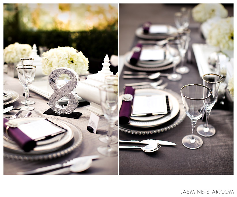 White And Silver Wedding Theme: Black White Silver Wedding