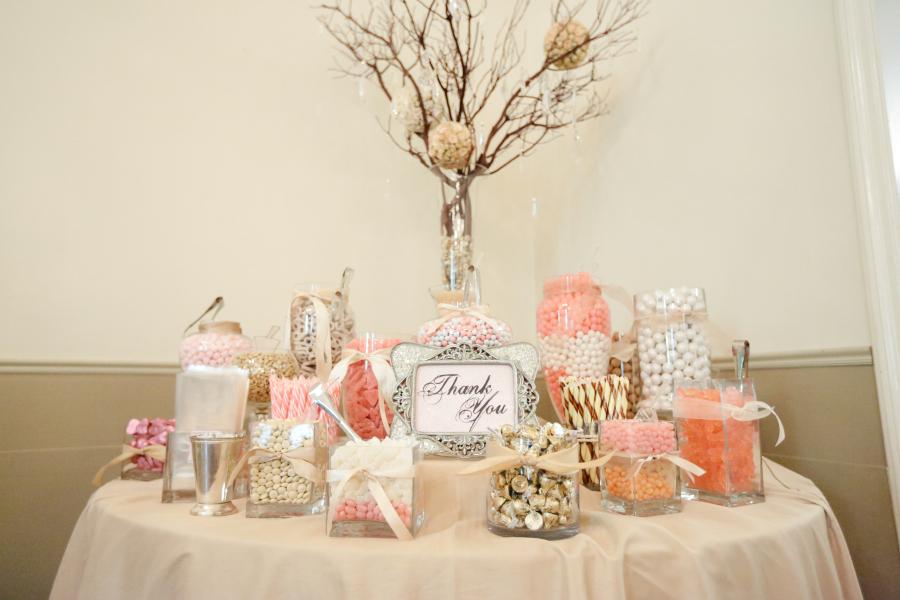Candy Buffet Ideas For Wedding Reception