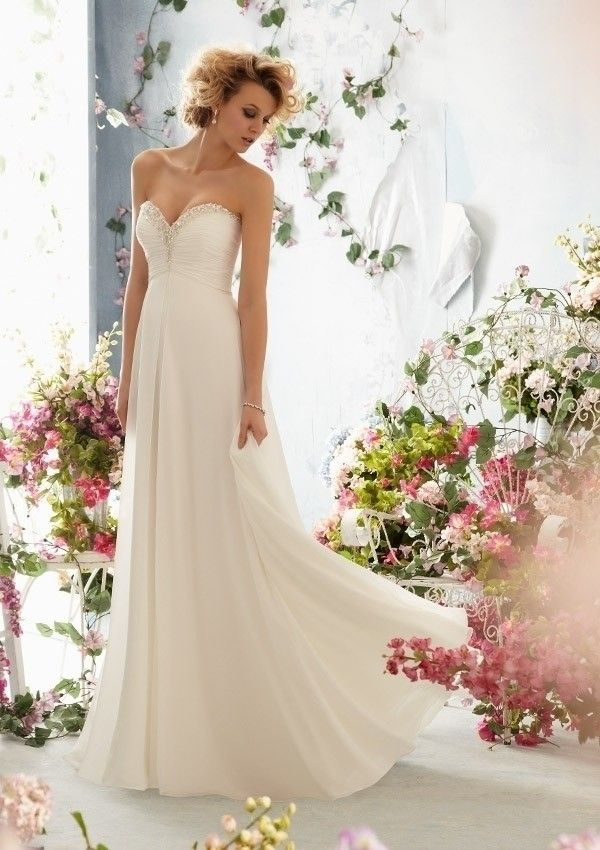 Choosing The One Amongst A Sea Of Beach Wedding Dresses