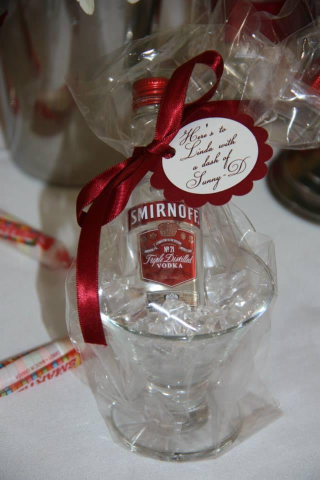 Wedding Favor Mini Liquor Bottles
