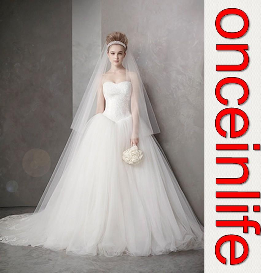 Lace Corset Top Wedding Dress