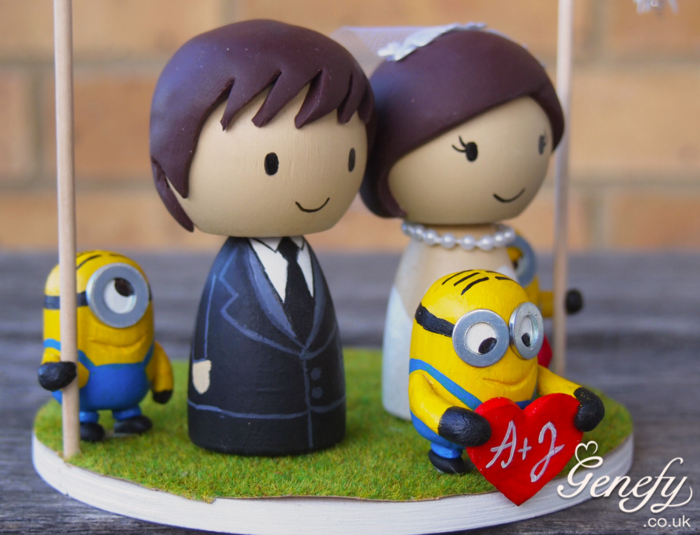 despicable me wedding cake topper minion wedding cake topper 13494