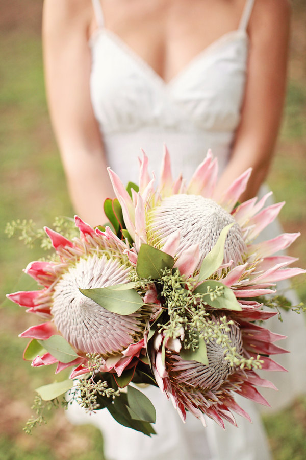 Hawaiian Wedding Flower Bouquets