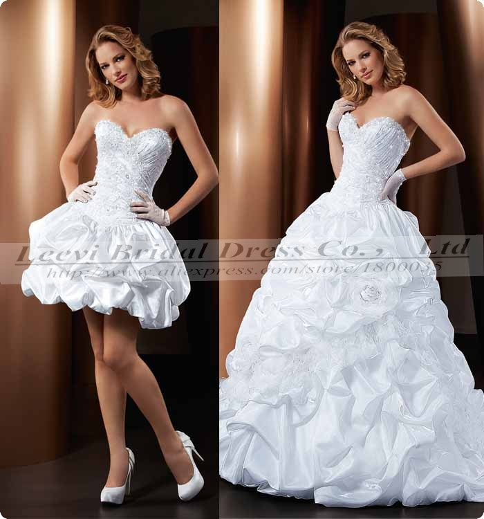 Detachable Wedding Skirt