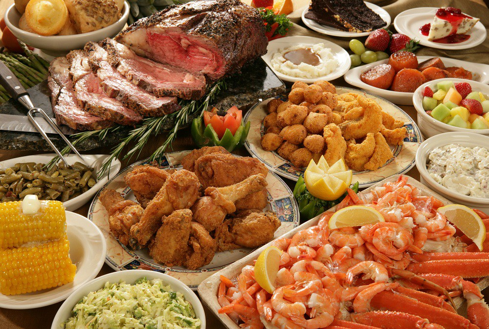 Wedding Menu Buffet Ideas