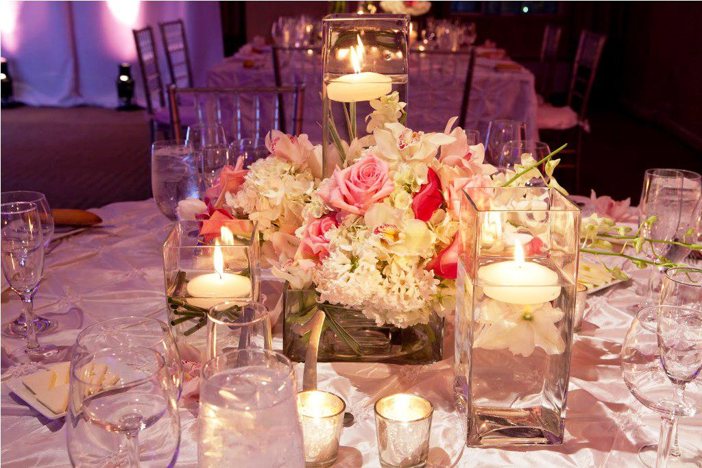 flowers and candle centerpieces for weddings. Black Bedroom Furniture Sets. Home Design Ideas