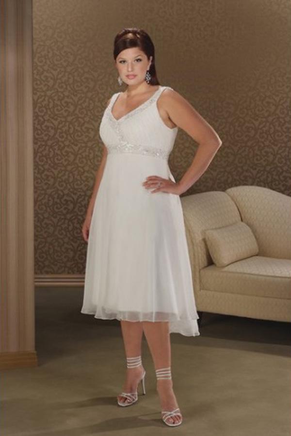 Plus Size Wedding Dress Under 100