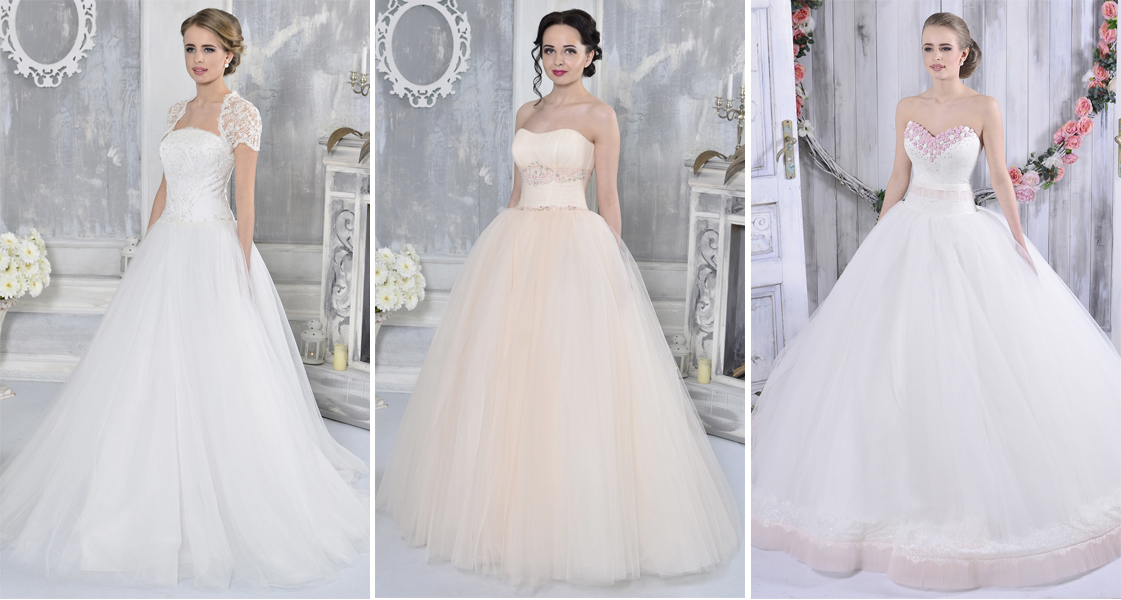 Full skirt wedding dress for Full skirt wedding dress