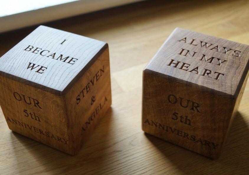 5th Year Wedding Anniversary Gift Ideas: Ideas For 5th Wedding Anniversary Present 5 Year Wedding