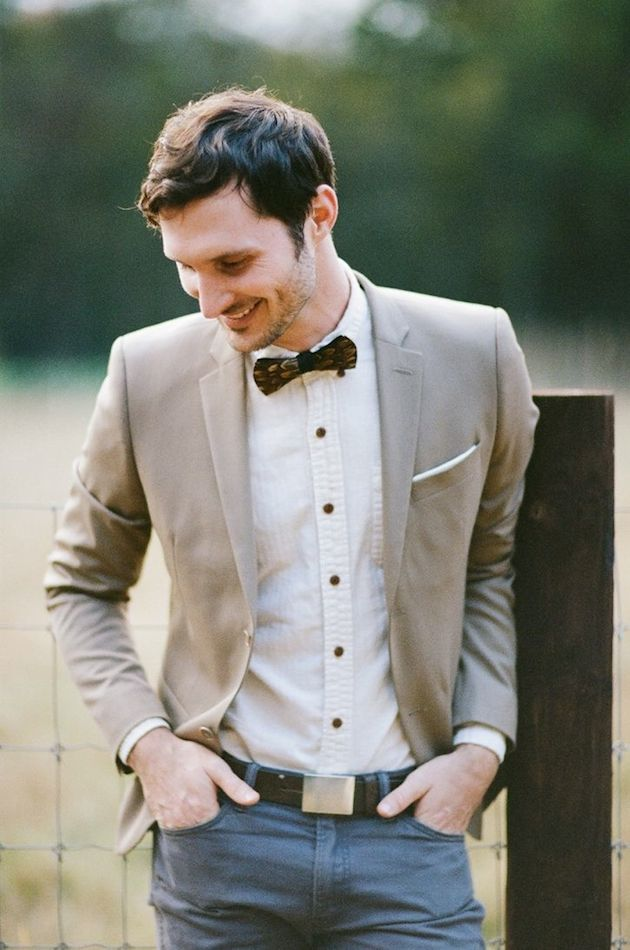 Groom Casual Wedding Attire