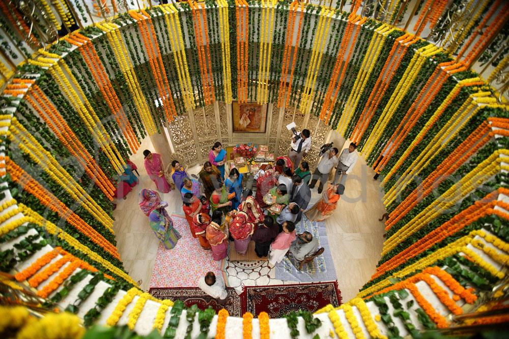 Indian Wedding Flower Decorations At Home Garlands And