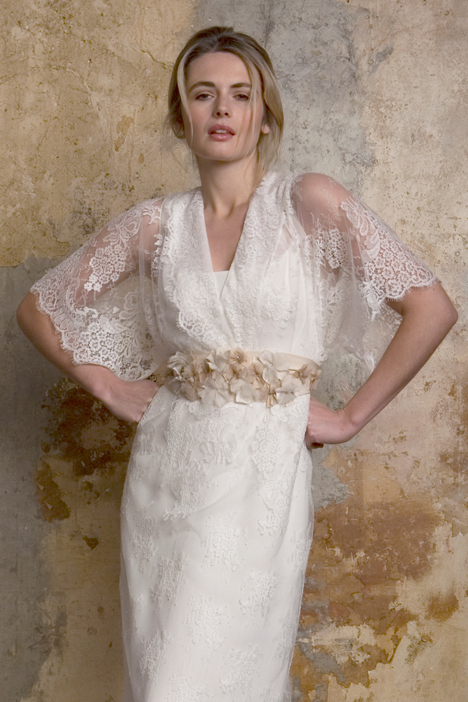 Kimono Style Wedding Dress