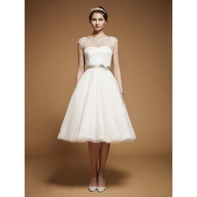 Knee Length Wedding Dress