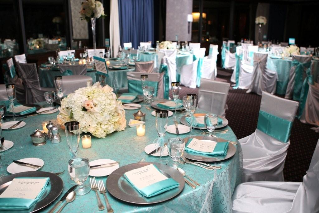 & Black Silver And Teal Wedding