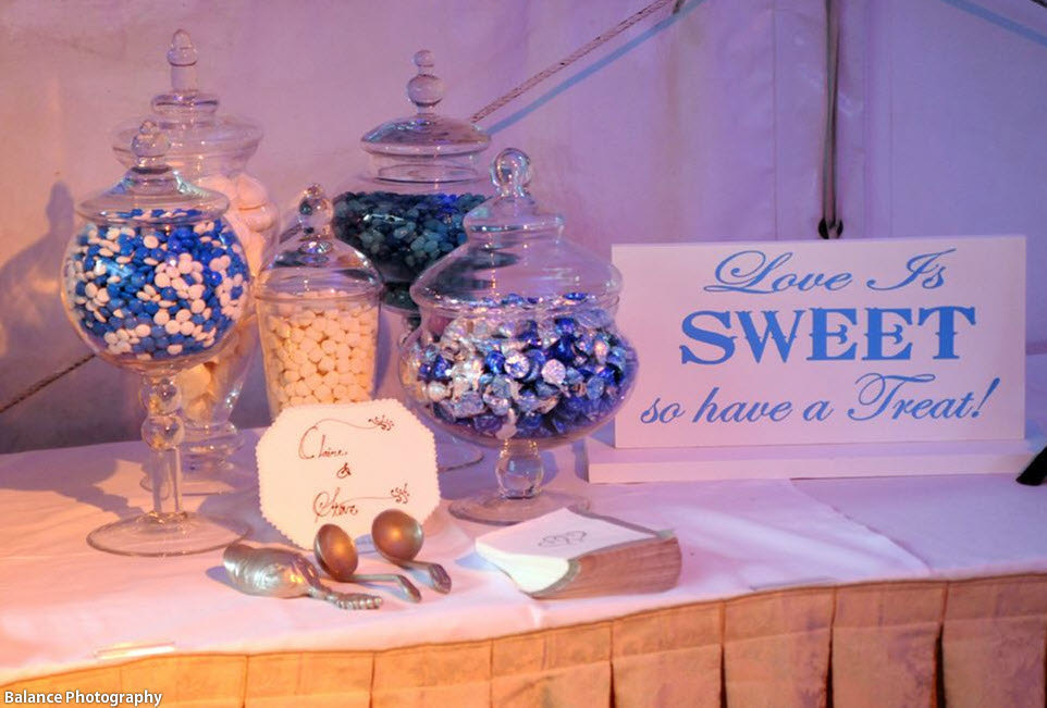 Love Is Sweet So Have A Treat Sign Includes Base Wedding