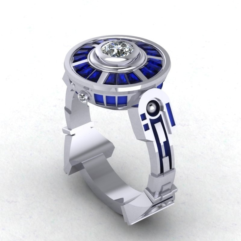 rings engagement jedi inspirational wedding band labs ring nerdy and wars knight of nerd star