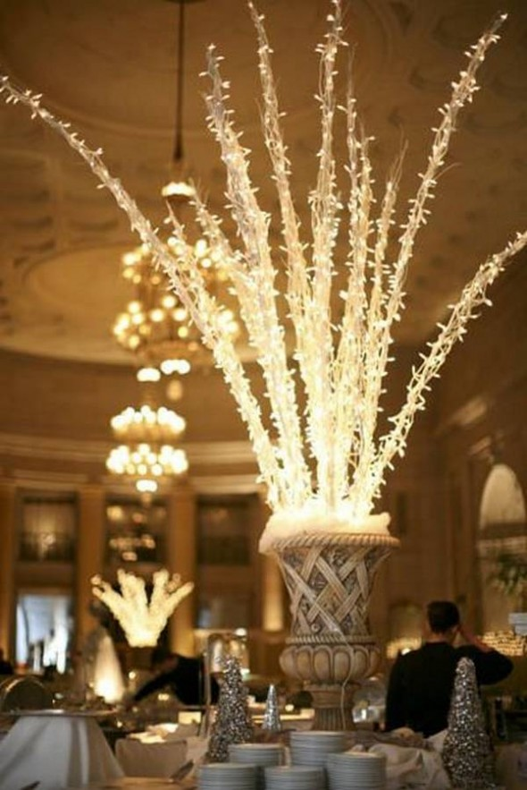 New Years Eve Wedding Centerpiece Ideas