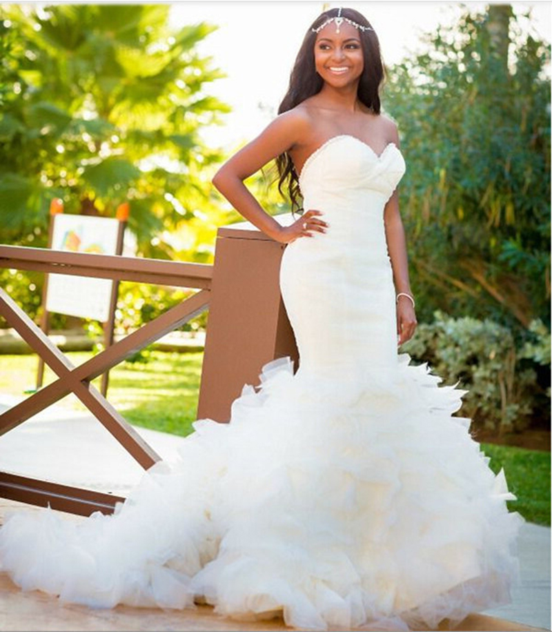 online buy wholesale mermaid wedding dresses for black women from