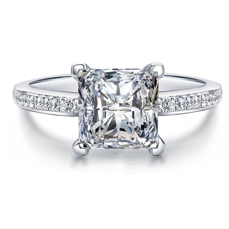 square diamond wedding rings square wedding rings 7644