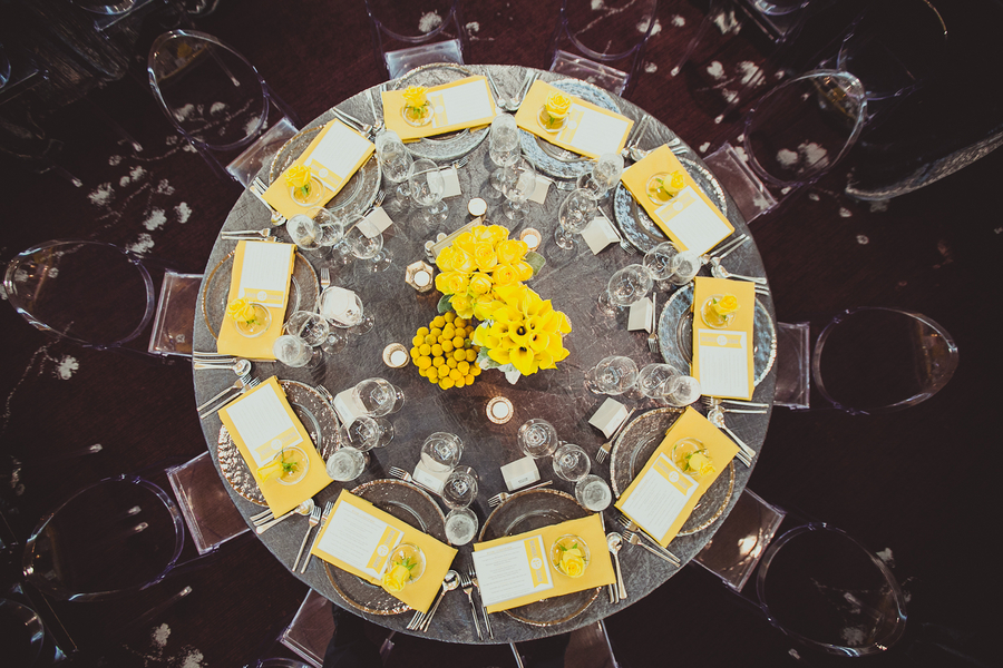 Grey and yellow wedding centerpieces images wedding decoration ideas yellow and gray wedding decorations mightylinksfo