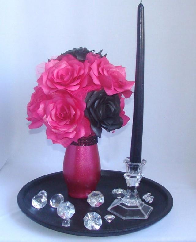 Hot Pink & Black Wedding Ideas