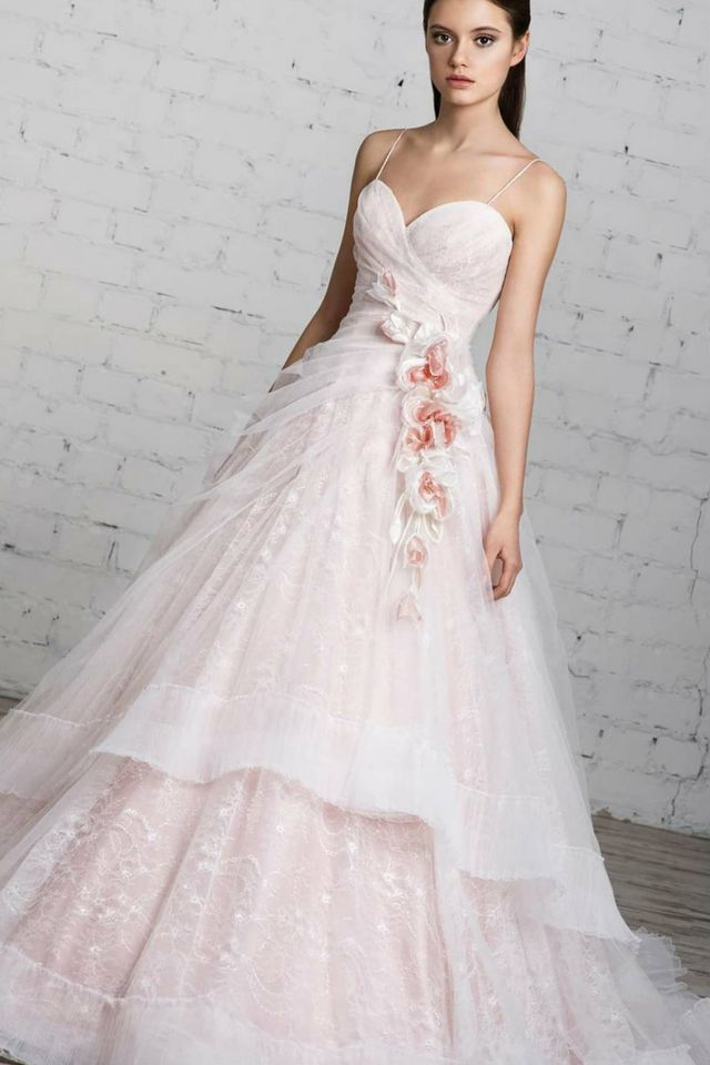 Pink And White Bedroom: Pink And White Wedding Dress