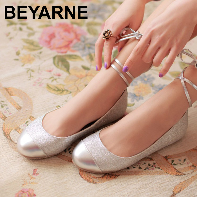 Wedding Ballet Flats With Ribbon