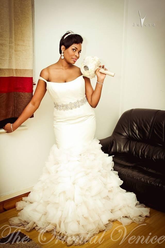 Black Women Wedding Dress